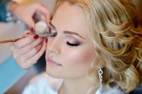 Make up für die Braut