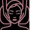Gesichtsbehandlung Gesichtsmassage